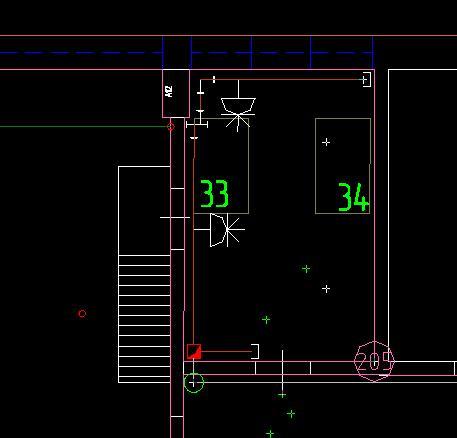 Electrics 3d 60 позволяет выводить в графический редактор autocad (bricscad, nanocad) плоские сечения трасс с